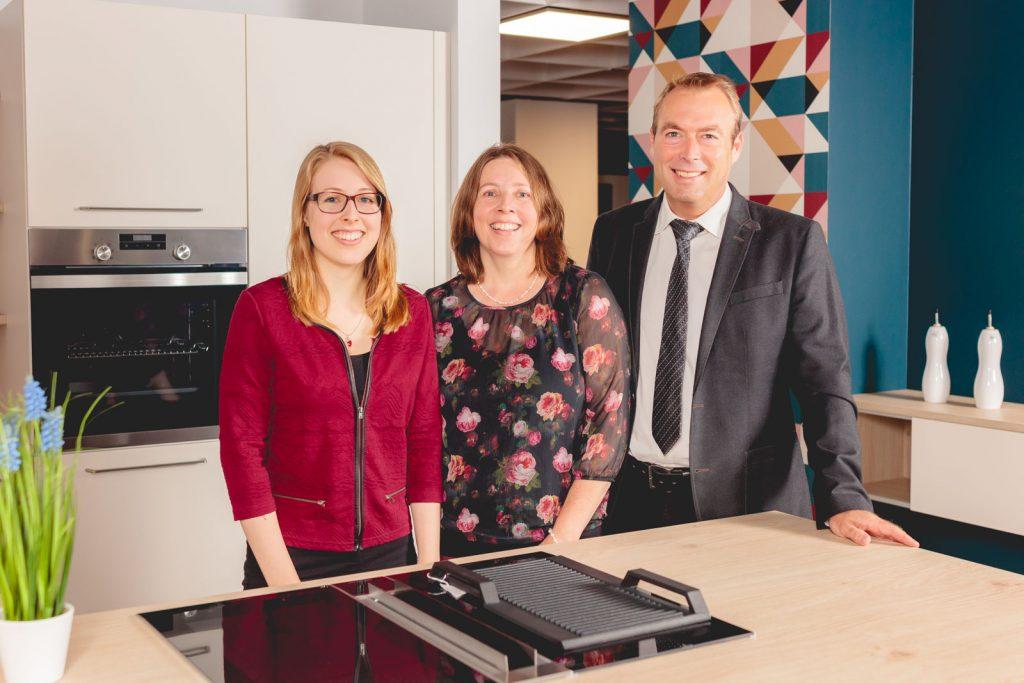 Kathrin, Christiane und Michael Seidl